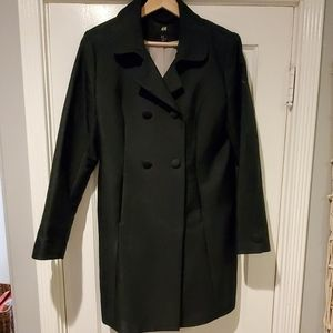 Navy Blue Womens Coat